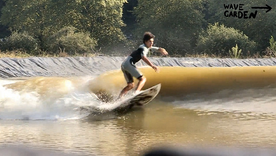 Wavegarden: waves only end if power is switched off