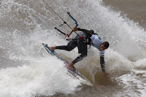 Wave kitesurfing: they like to be called surfers