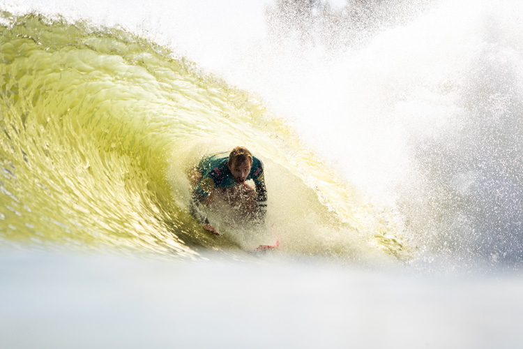 Surf Ranch: the Lemoore test site can only be used for half of the year because of because of the low winter temperatures | Photo: Cestari/WSL