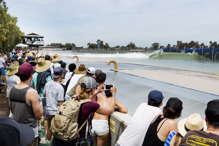 Wave pools: they're probably not the future of pro surfing | Photo: Cestari/WSL