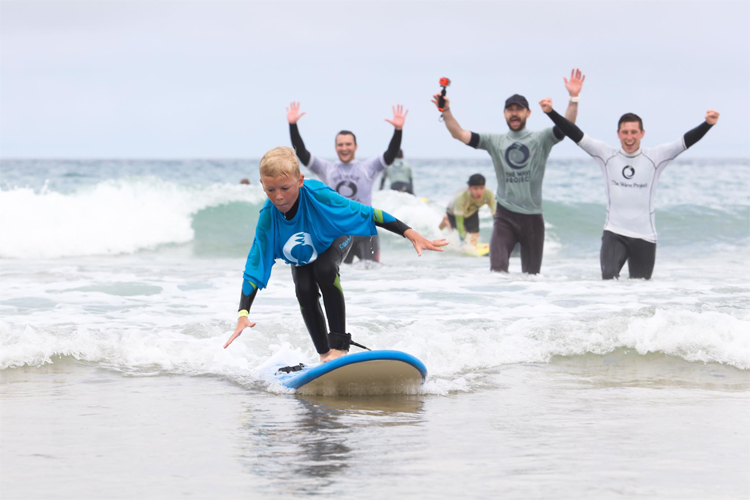 The Wave Project: helping young people with social and emotional challenges through surfing | Photo: Wave Project