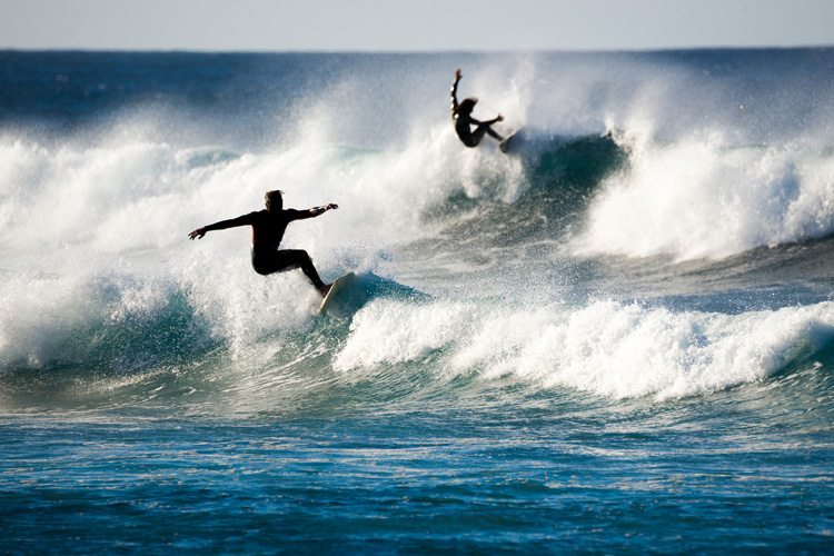 Surfing: two-thirds of all injuries are caused by surfboards | Photo: Shutterstock