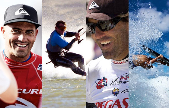 Waves of 2010: Slater, Douglas, Albeau and Lavernhe