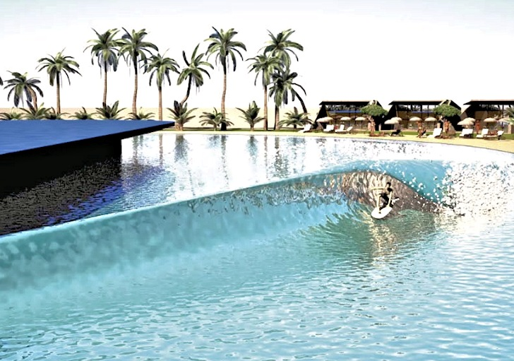 Australia 39 s first artificial wave pool will open in queensland for Pool builders queensland