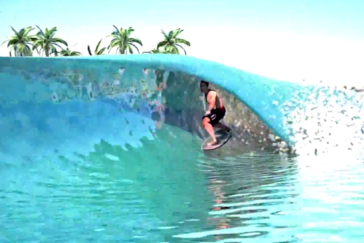 Webber Wave Pools: a software will imitate Nature