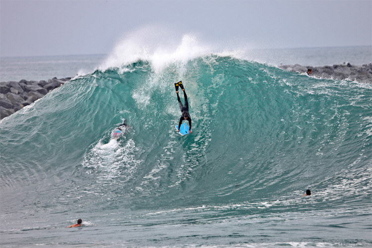 The Wedge: the perfect venue for an APB World Tour stage | Photo: Freestyle