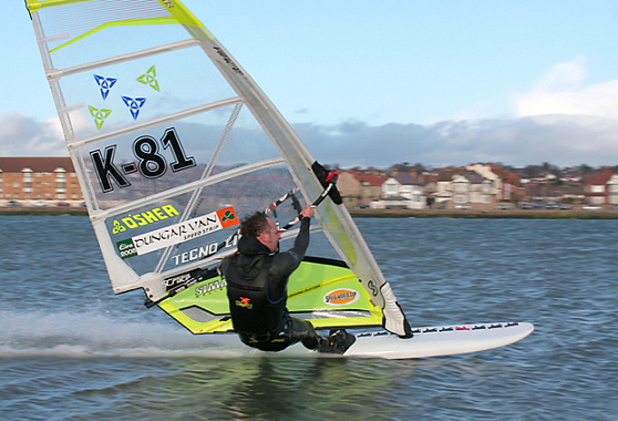 West Kirby GPS Windsurfing Battle