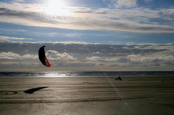 Westward Ho! Beach: UK kiteboarding heaven