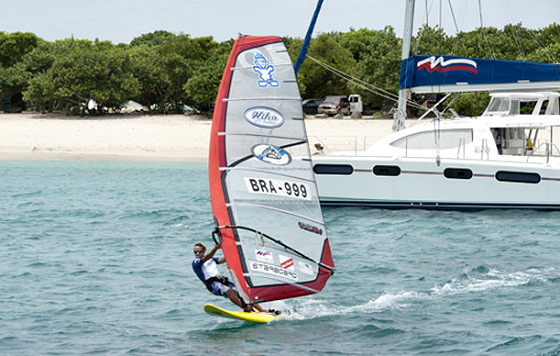 Wilhelm Schurmann: he prefers windsurfing to yachting