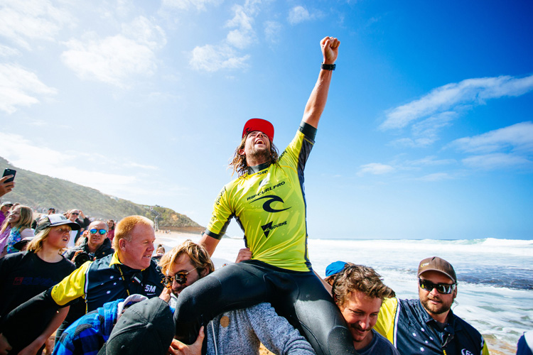 Matt Wilkinson: two in a row | Photo: Sloane/WSL