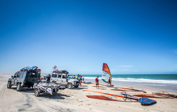 W.IN.D Brazil 2015: a complex windsurfing adventure | Photo: Guy Cribb Windsurfing INtuition