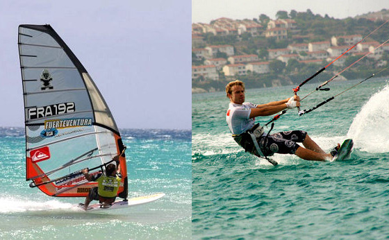 Windsurfing VS Kiteboarding: the heat is on