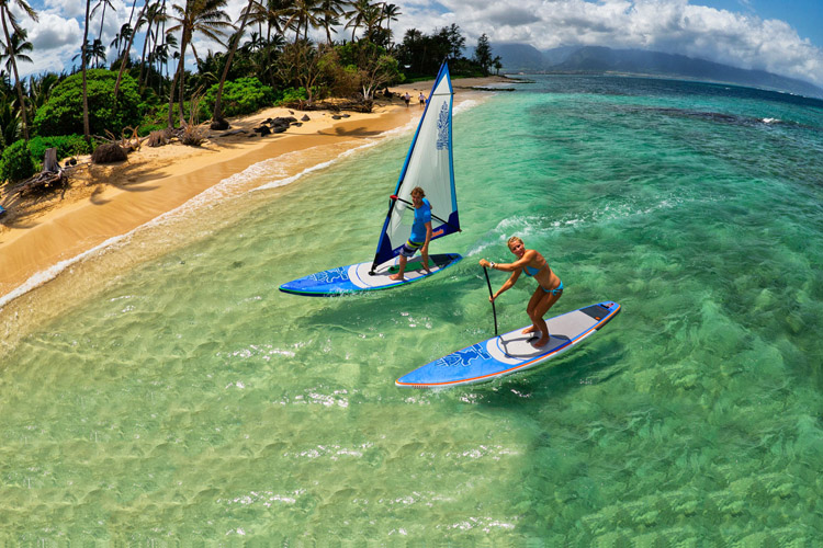 WindSUP: go windsurfing, go stand-up paddleboarding | Photo: Starboard