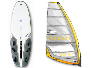 Windsurf Board and Sail Size Chart