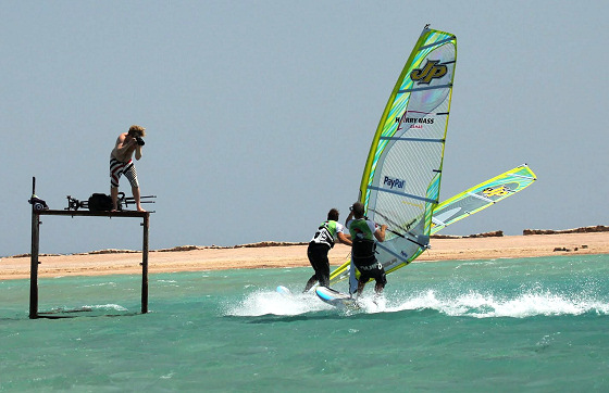 Go Pro with Colin and Marco: useful windsurf coaching tips