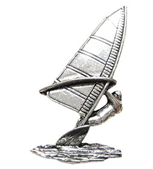 Windsurfer Pin