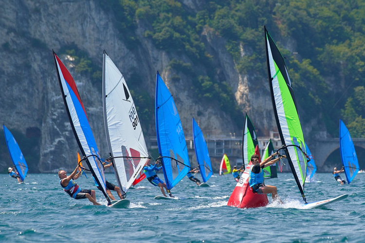 Windsurfer World Championships: the first event of the modern era | Photo: Circolo Surf Torbole