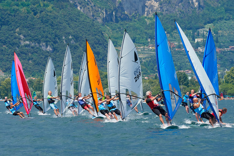 Windsurfer World Trophy: sailors from all over the globe competed for world titles | Photo: Windsurfer Class
