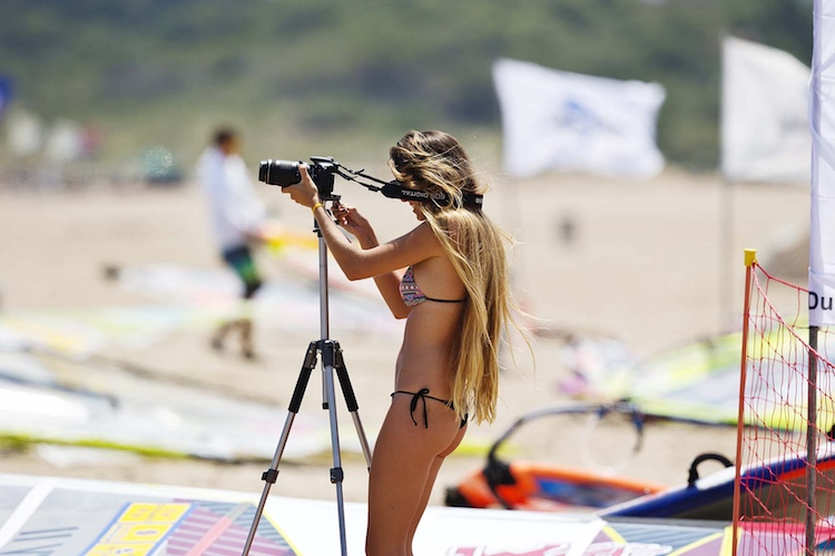 Windsurfing widows: thank you for your time | Photo: Carter/PWA