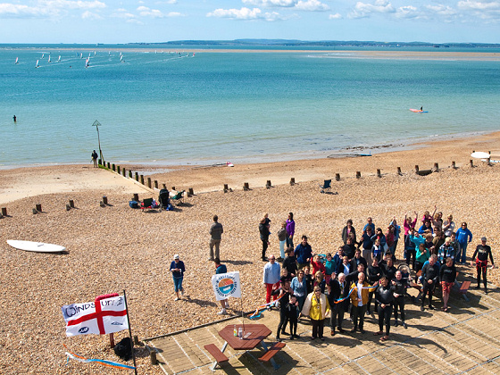 Windsurfing 4 Cancer raised more than £20,000