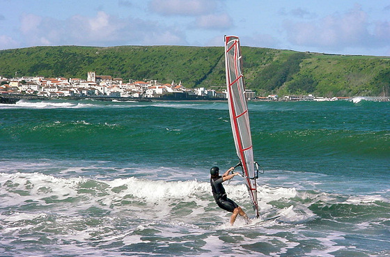 Azores Islands: windsurfing heaven in the Atlantic Ocean