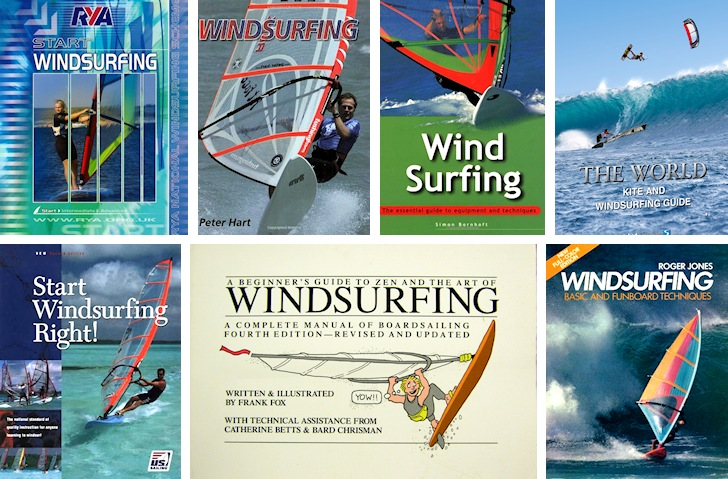 Windsurfing books: learn and improve your water skills