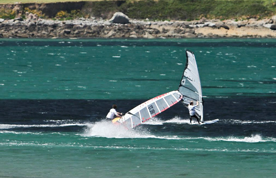Castlegregory: Irish windsurfing heaven