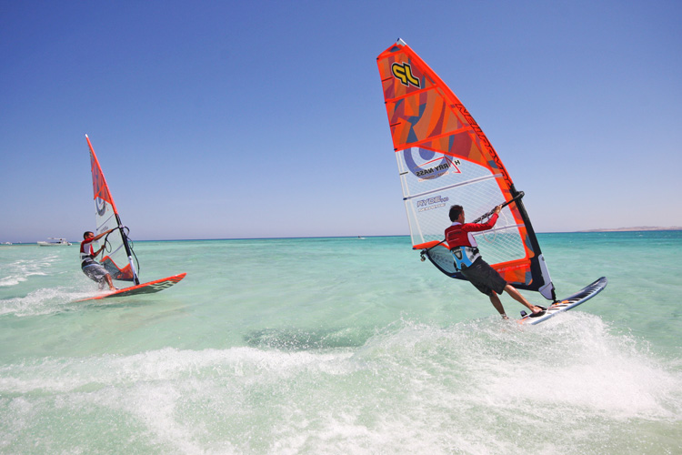 Hurghada, Egypt: a windsurfing paradise in the Red Sea | Photo: planetwindsurfholidays.com