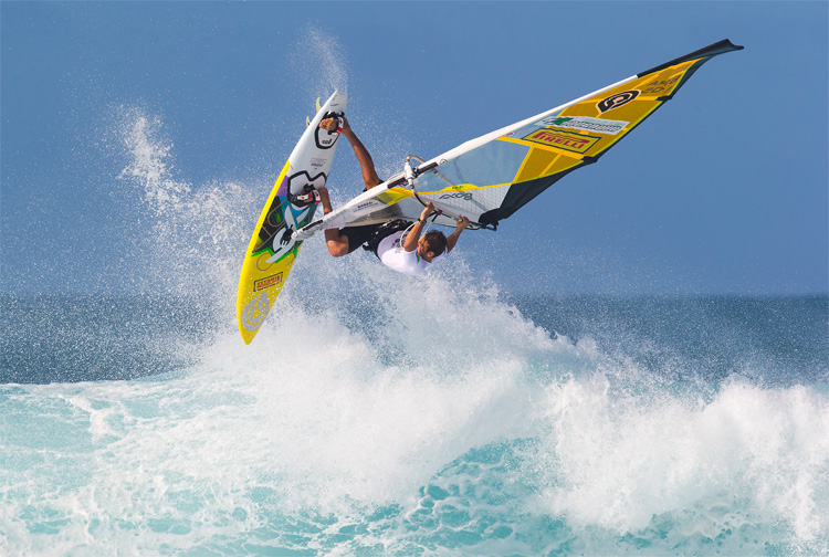 Windsurfing: is there a music genre for the sport? | Photo: Carter/PWA