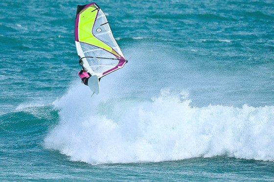 Windsurfing New Zealand: 'on air'
