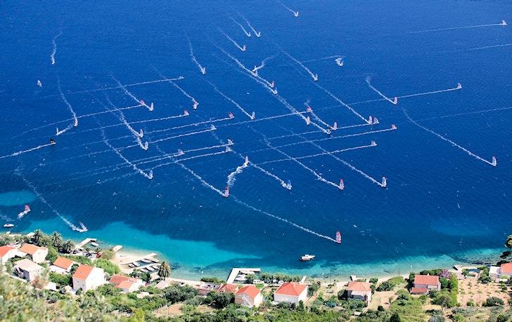 2014 Formula Windsurfing European Championships: welcome Viganj, Croatia