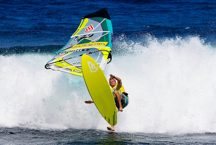Windsurf injuries: more frequent than you might think | Photo: Carter/PWA World Tour