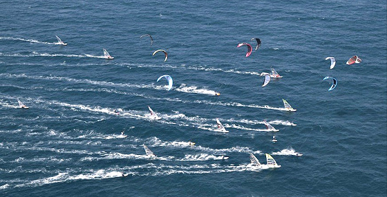 Windsurfing and Kiteboarding: in the hands of the ISAF