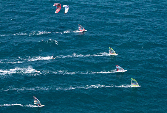 Windsurfing and kiteboarding: counting votes for the Olympic Games