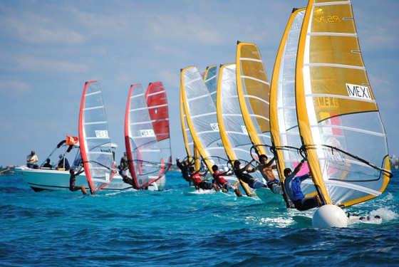 Mexican RS:X windsurfers: preparing to conquer the world