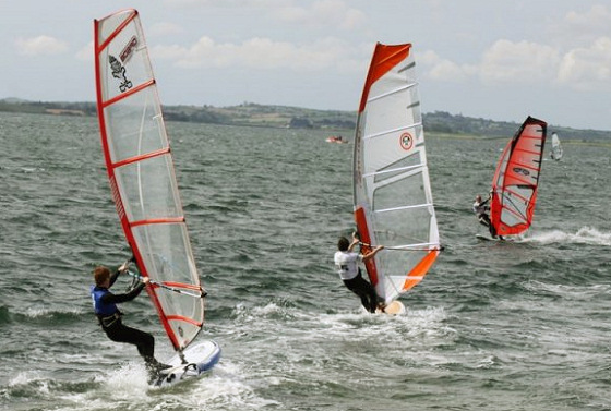 Newtownards: splendid for windsurfing