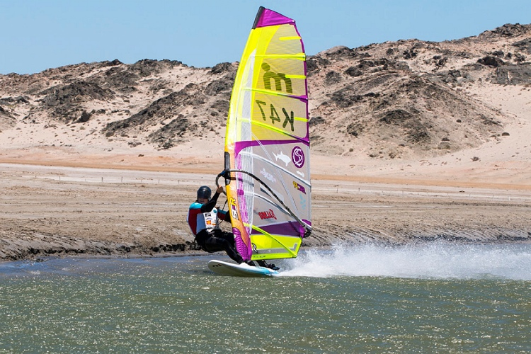 Speed windsurfing: planing is key to success | Photo: Patterson/Luderitz Speed Challenge