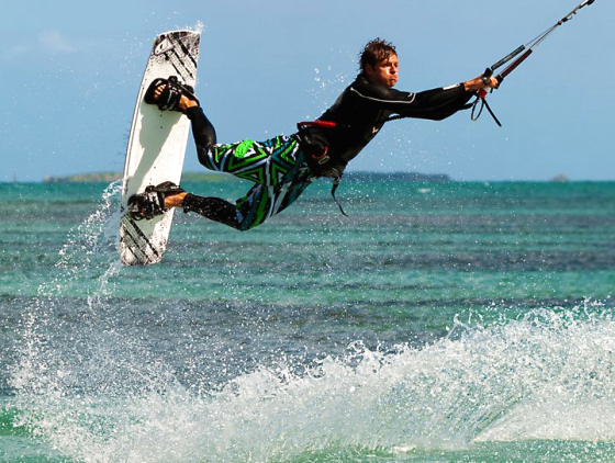 Kitesurfing in Australia: happy times