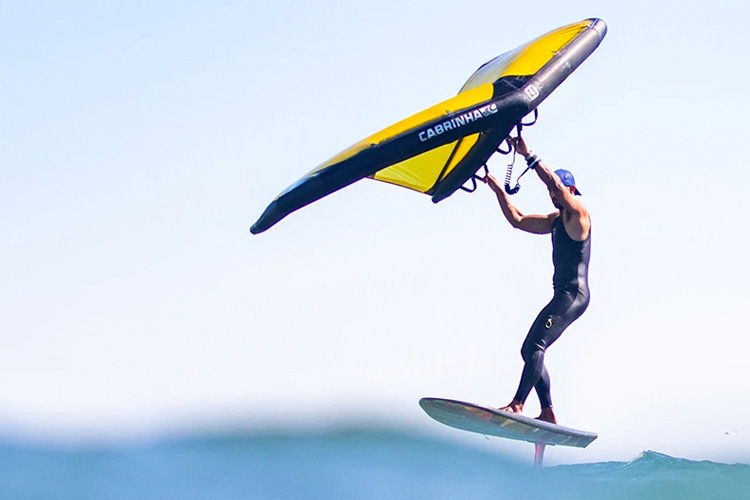 Wing sports: one of the fastest-growing water sports in the world right now | Photo: Cabrinha