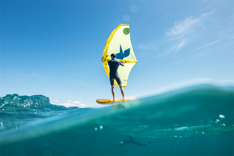 Wing foiling: the future of surfing, windsurfing and kiteboarding combined | Photo: GWA