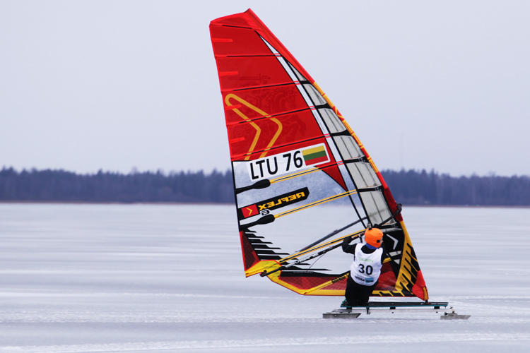 WISSA World Championships 2016: speed sailing on ice | Photo: Gediminas Gresevicius/WISSA