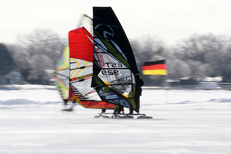 World Ice and Snow Sailing Championships: surfing on frozen waters | Photo: WISSA