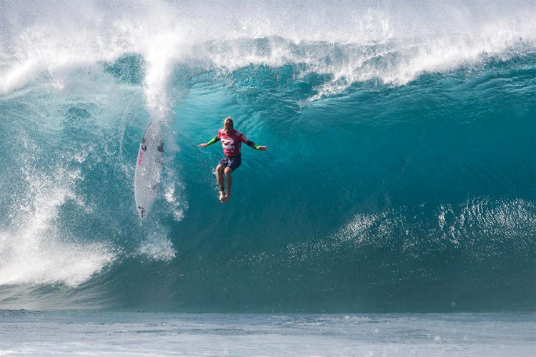 Wipeout: the novel coronavirus Covid-19 pandemic will hit surfing hard | Photo: WSL