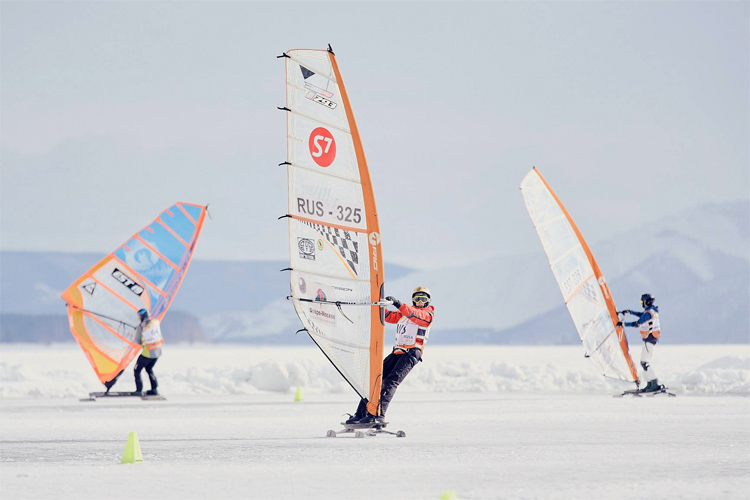 2017 World Ice and Snow Sailing Championships: the event attracted more than 150 athletes to Togliatti, in Russia | Photo: SnowKite Russia