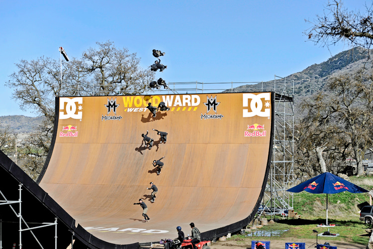 Mega ramps: a large scale version of a half-pipe or vert ramp ranging from 200 to 360 feet in length | Photo: Red Bull