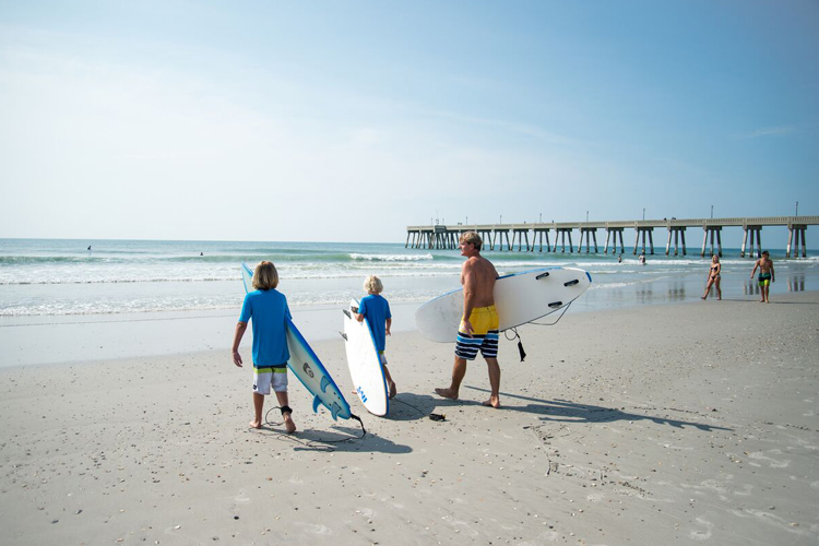 Wrightsville Beach: pioneer in East Coast surfing | Photo: Wrightsville Beach