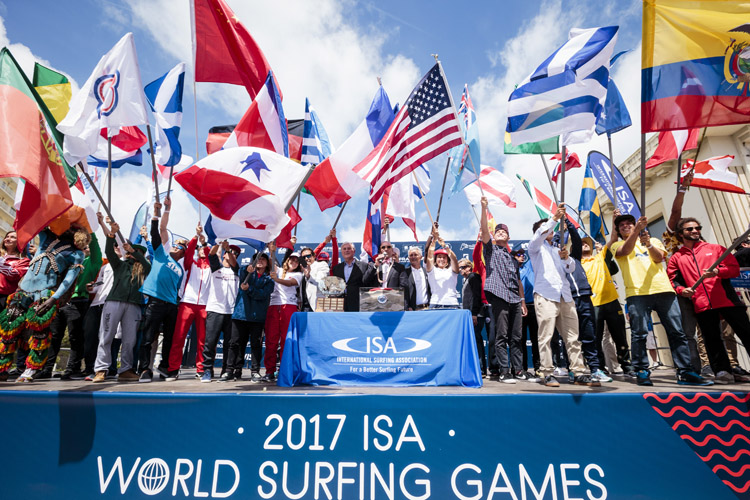 World Surfing Games: diversity and gender equality are critical in the Olympic Games | Photo: Reed/ISA