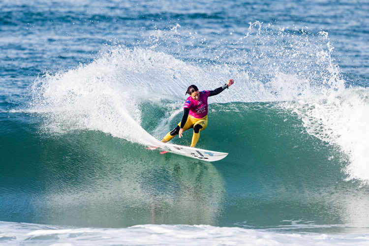 Professional surfing: athletes have the power to influence millions of fans | Photo: Poullenot/WSL