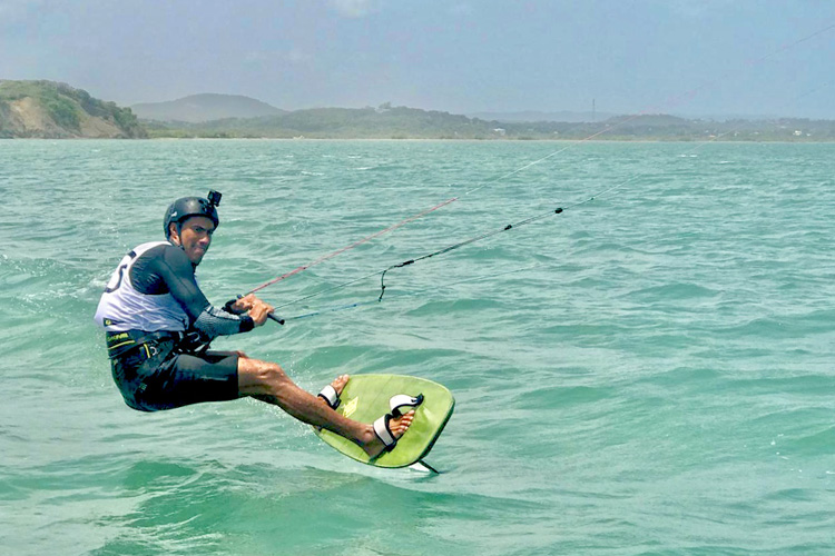 Xantos Villegas: the world's first gold medal winner in kitesurfing
