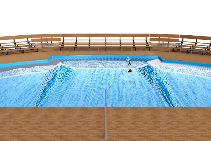X-Stream Wake Rider: a wakeboarding pool
